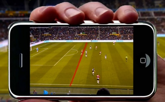 Augmented reality offside