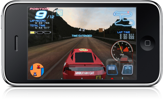 RIDGE RACER ACCELERATED no iPhone