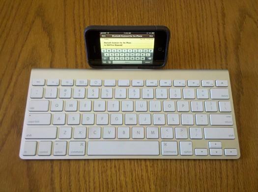 Teclado Bluetooth no iPhone