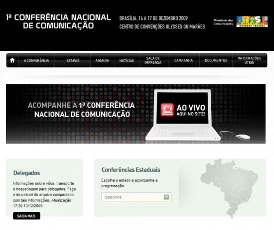 Mac é Pop - 1ª Conferência Nacional de Comunicação