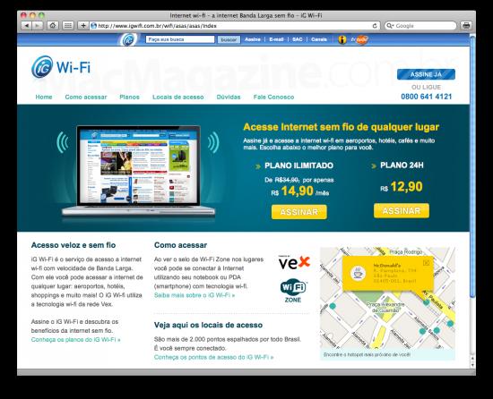 Mac é Pop - iG Wi-Fi
