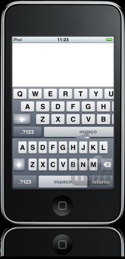 iPod touch FAIL teclado pifado