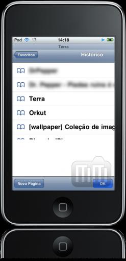 iPod touch FAIL - Mobile Safari travado