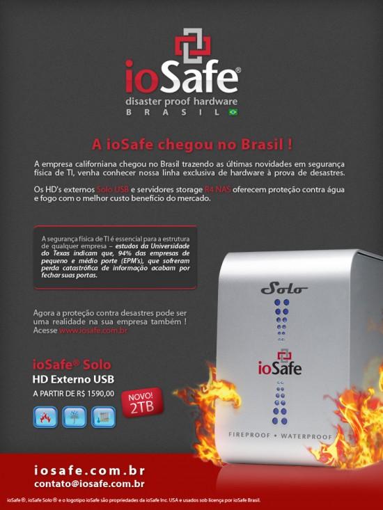 ioSafe chega ao Brasil