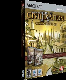 Caixa do Sid Meier's Civilization IV: Colonization para Mac