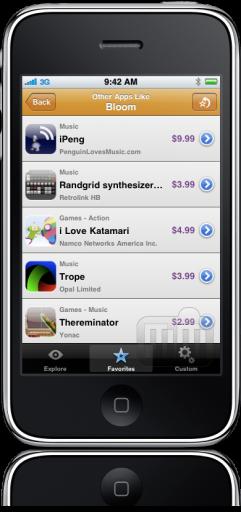 Appsaurus no iPhone