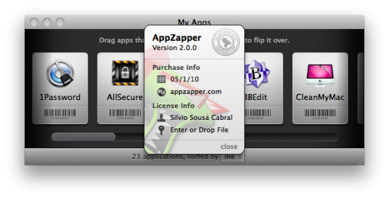 AppZapper 2.0