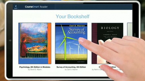 Tablet da Apple by CourseSmart