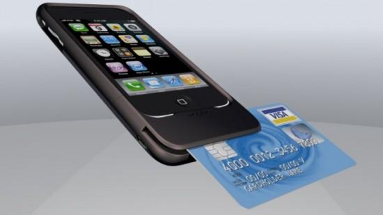 Leitor de cartão de crédito para iPhone da Mophie
