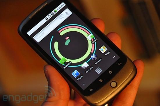 Nexus One, by Engadget