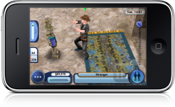 The Sims 3: World Adventures no iPhone