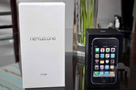 Primeiras impressões sobre o Nexus One