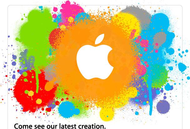 Convite da Apple para a imprensa