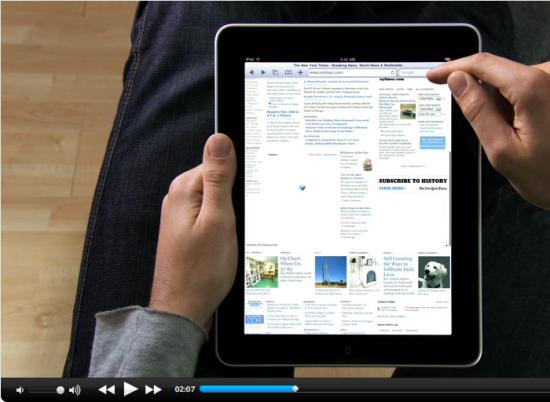 iPad sem Adobe Flash