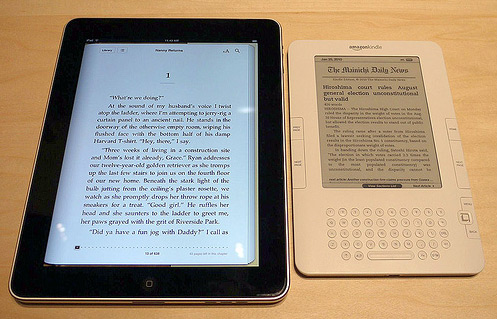 iPad e Kindle - Eddie Wong