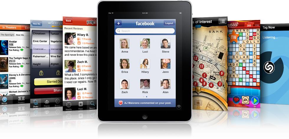 Apps de iPhone no iPad