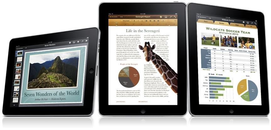 iWork para iPad