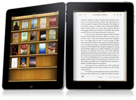 iPads em pé - iBooks