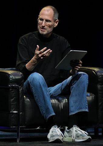 Steve Jobs com iPad