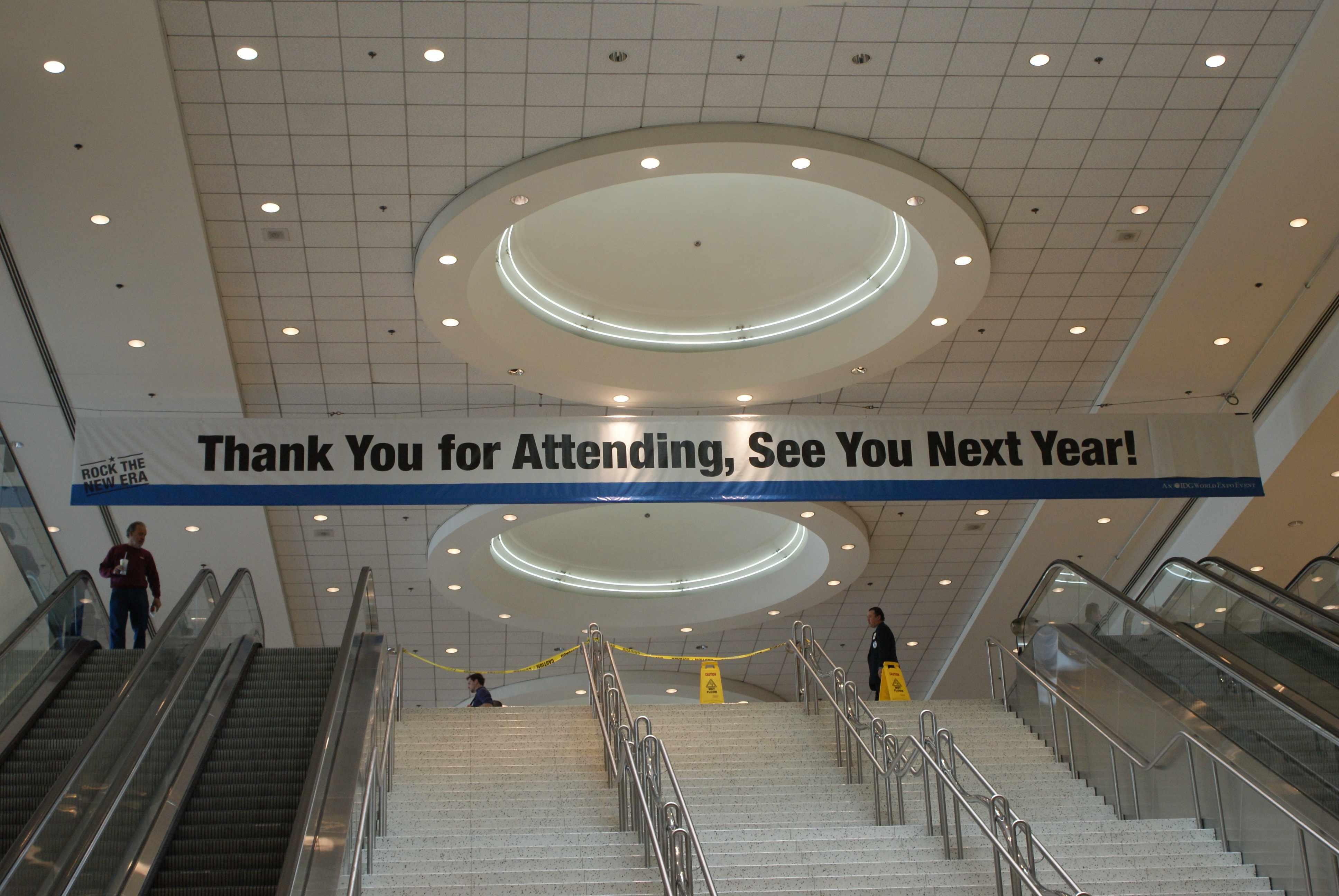 Banner sobre a Macworld 2011