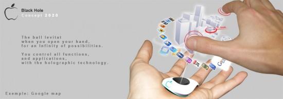 "Conceito de iPhone ""Black Hole"" da Apple"