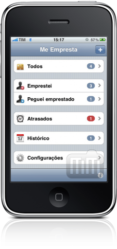Me Empresta no iPhone