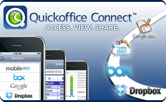 Quickoffice Connect para iPhone