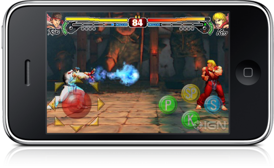 Street Fighter IV no iPhone