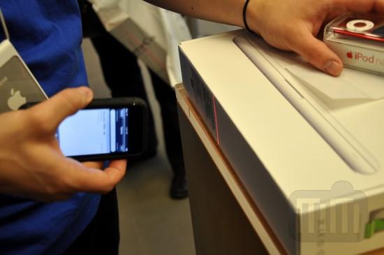 Sistema de vendas baseado em iPods touch numa Apple Retail Store