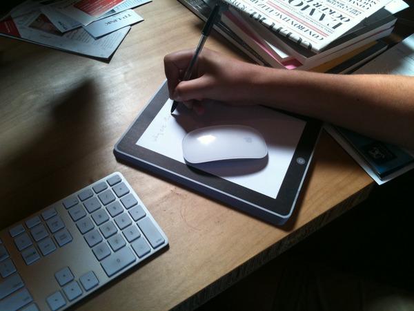 Notepod+, bloco de anotações à la iPad
