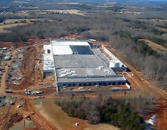 Novo data center da Apple em Maiden