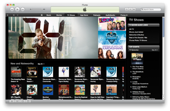 iTunes Store — TV Shows