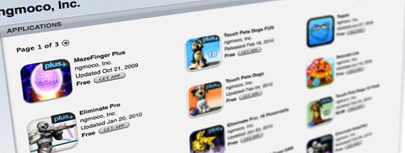 ngmoco:) na App Store