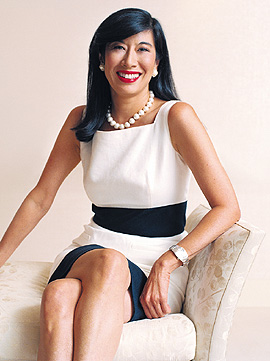 Andrea Jung, diretora da Apple e CEO da Avon
