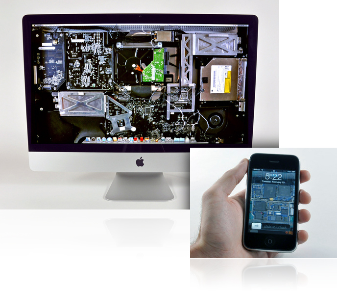 Wallpapers internos iFixit
