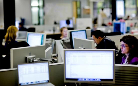 Macs na sede do portal LinkedIn