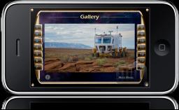 NASA Lunar Electric Rover Simulator no iPhone