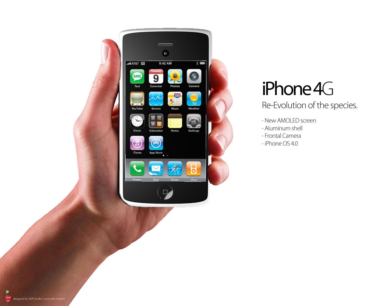 Conceito de iPhone 4G da ADR Studio