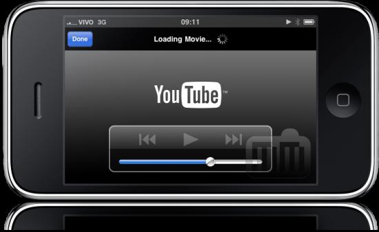 iPhone FAIL YouTube interface