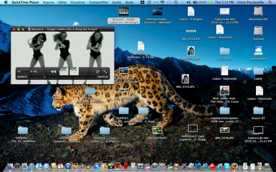 Mac FAIL QuickTime X botões
