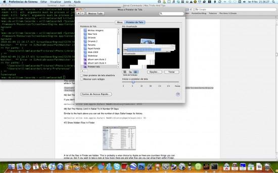 Mac FAIL screensaver vs. Exposé