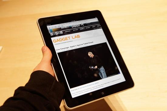 Wired.com no iPad