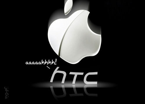 Apple brigando contra a HTC