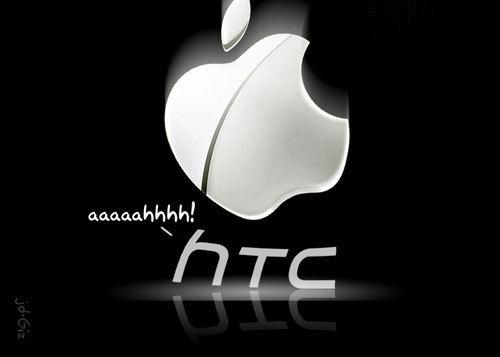 Apple brigando contra a HTC