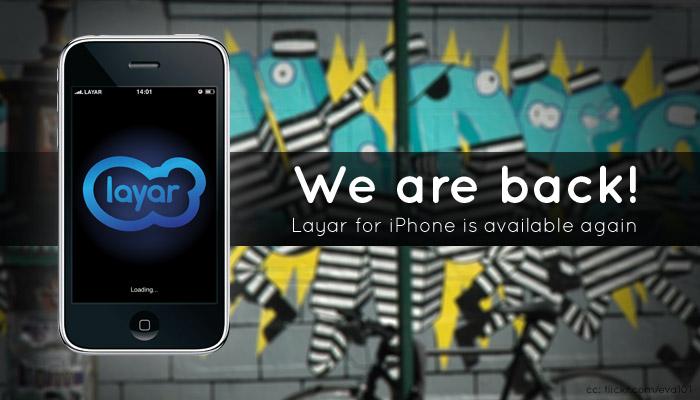 Layar de volta à App Store