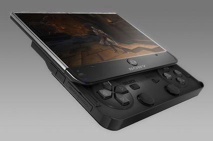 Conceito de Sony PSPhone