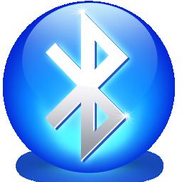 Ícone esférico do Bluetooth