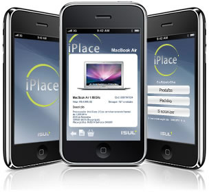 App da iPlace no iPhone