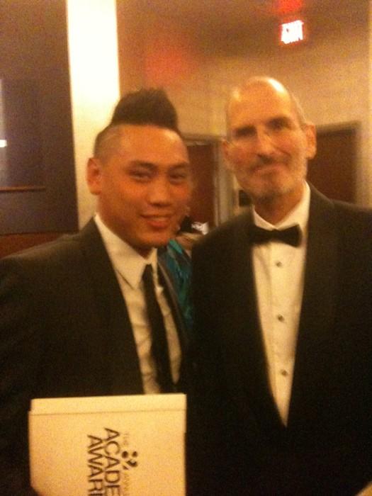 Steve Jobs nos Oscars