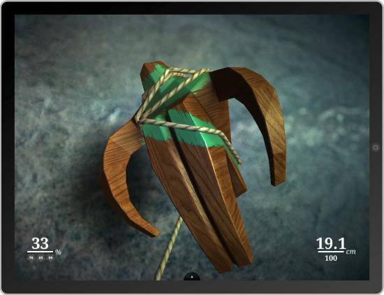 Zen Bound 2 no iPad